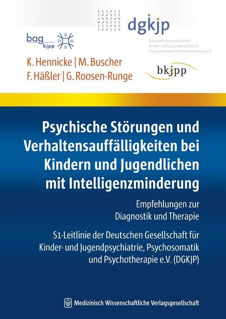 Psychische Störungen und Verhaltensauffälligkeiten