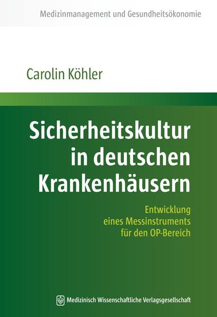 Sicherheitskultur in deutschen Krankenhäusern